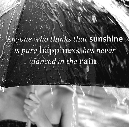 Quotes About Dancing in the Rain